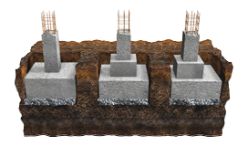 Pad/Isolated Footing | Shallow Foundations | Fine
