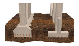 Strip footings - GEO5